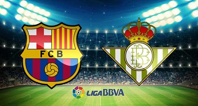 مشاهدة مباراة برشلونة وريال بيتيس اليوم بث مباشر