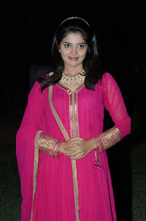 Shravya Reeddy Looks cute and Gorgeous ina Full Pink Salwar Kameez at Premikudu Movie Audio Launch Event
