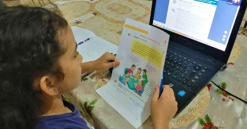 CONTUNDENTE: Más del 73% de padres de familia exigen las clases virtuales para el Año Escolar 2021 y rechazan presenciales
