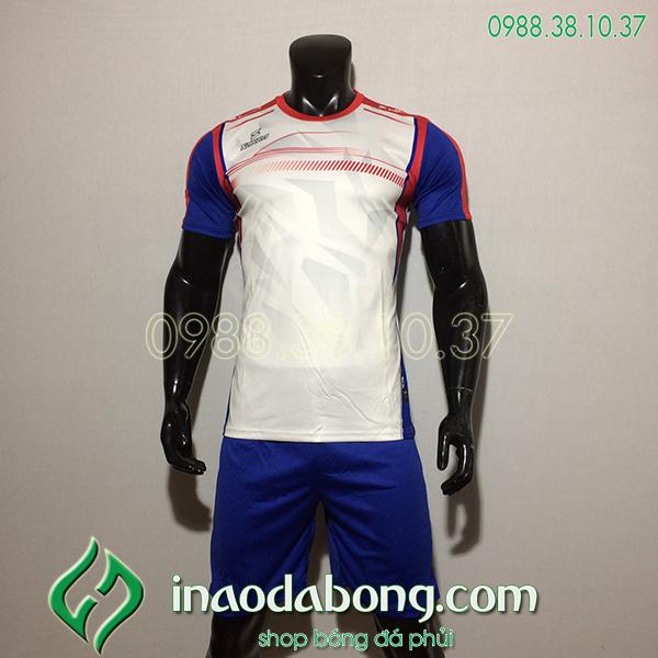 Áo Bóng Đá Ko Logo Saka HKC Màu Trắng