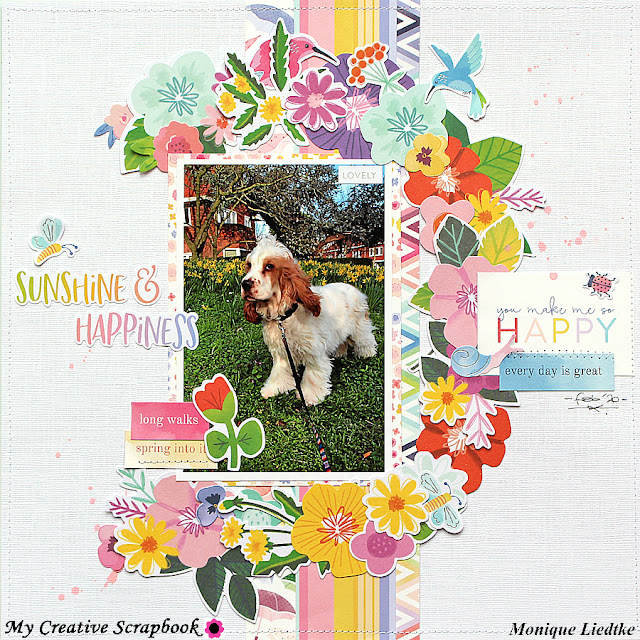 You Make Me So Happy | My Creative Scrapbook March Main Kit