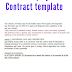 Korean Employment Contract template
