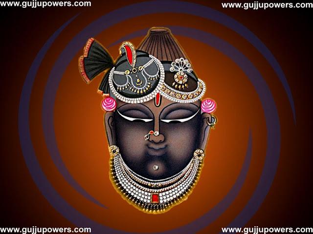 shreenathji face painting