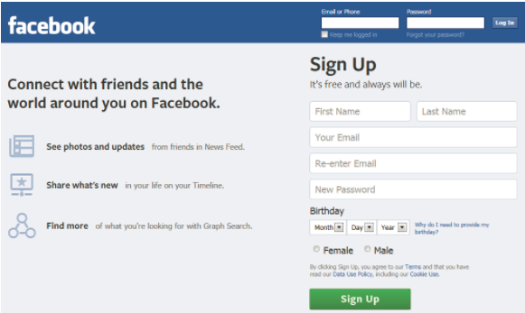 Facebook Com Login Sign Up L