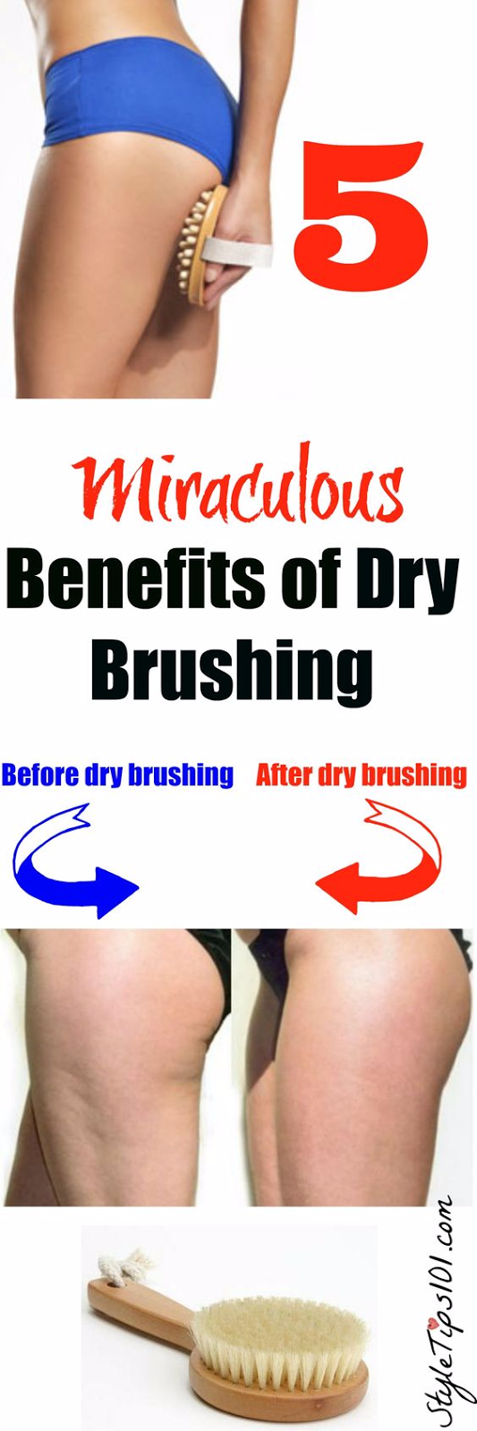 5 BENEFITS OF DRY BRUSHING