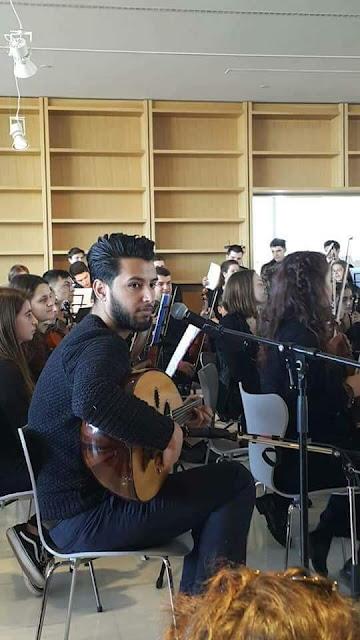 الفنان السوري حسين بدران ولأول مرة في بث مباشر من حفل بكرناجي هول في نيويورك لمسرح الأوبرا باليونان