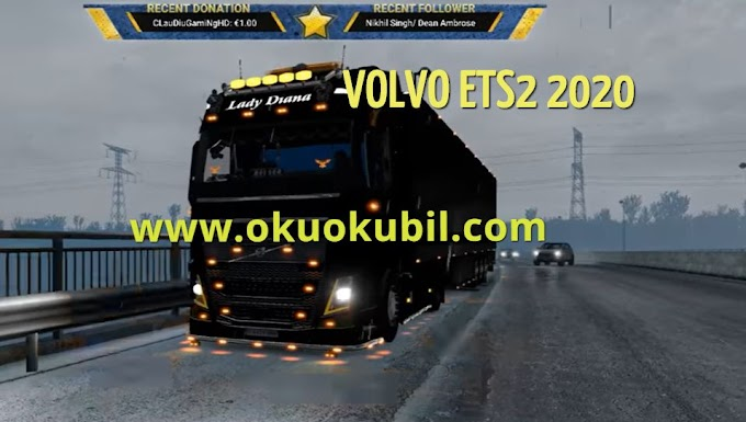ETS2 Frosty Winter Weather v7.4 (1.37) Euro Truck Simulator 2 Mod İndir 2020