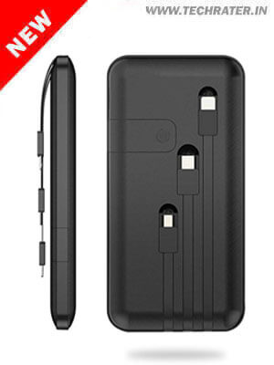 4-in-1 Powerbank 10000 Mah with Mobile Stand