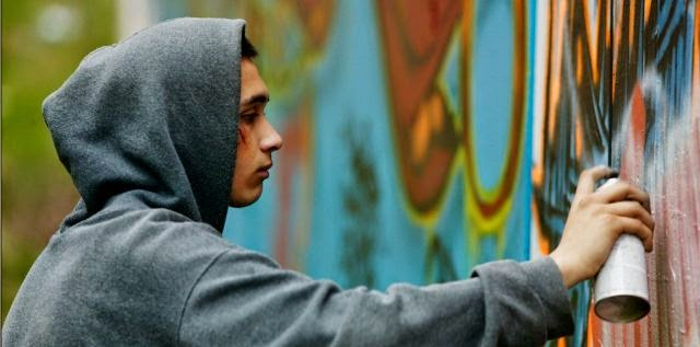 The graffiti artist, 5