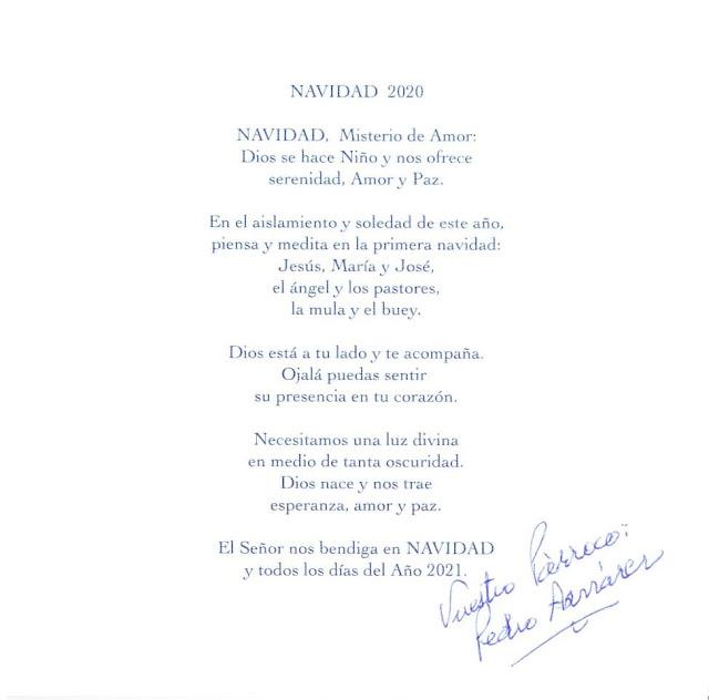 2020 - Navidad Mosen Pedro