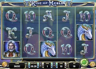 Барабан слота Rise of Merlin