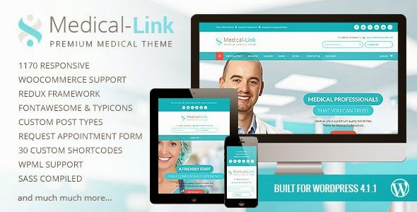 Best Responsive Medical WordPress Theme