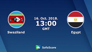 ماتش مصر و سوازيلاند مباشر اليوم تصفيات كأس إفريقيا