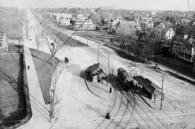 Beacon Street looking east, between 1903 and 1907