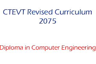 Diploma in Computer Engineering Syllabus New Revised 2075 - CTEVT