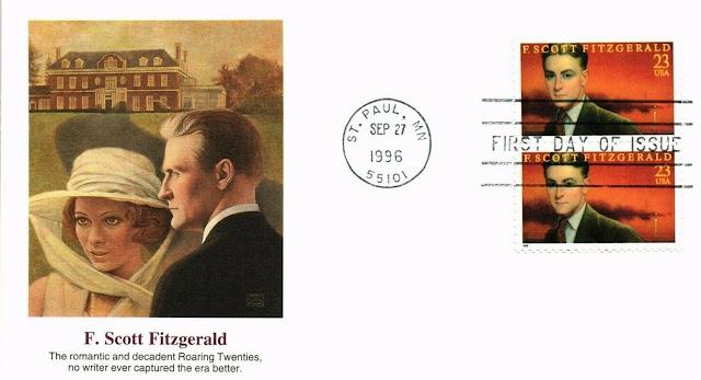 F Scott Fitzgerald FDC Cover