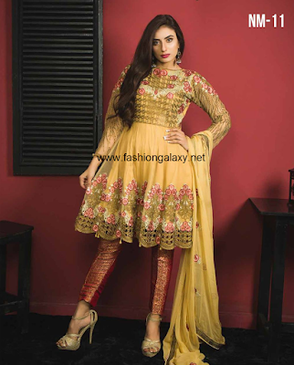 7 Mossii By Nawab Winter Dresses 2018