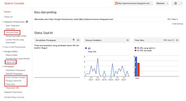 Cara mendaftarkan blog ke google webmaster LENGKAP