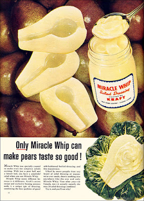 Only Miracle Whip Can Make Pears Taste So Good