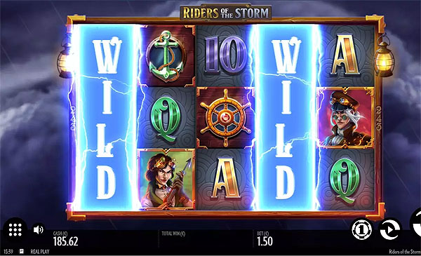Main Gratis Slot Indonesia - Riders of the Storm (Thunderkick)