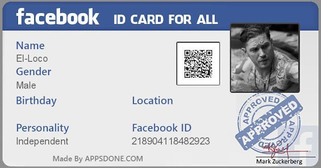 [ONLINE] Create Facebook ID Card [Easily and Quickly]