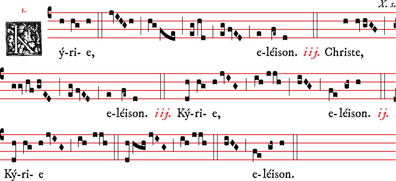 New Liturgical Movement The Ninefold Kyrie An Example Of Useless