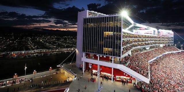 Informações sobre o Levi's Stadium em San Francisco