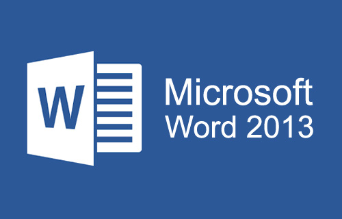 Microsoft Office Word 2013 Course
