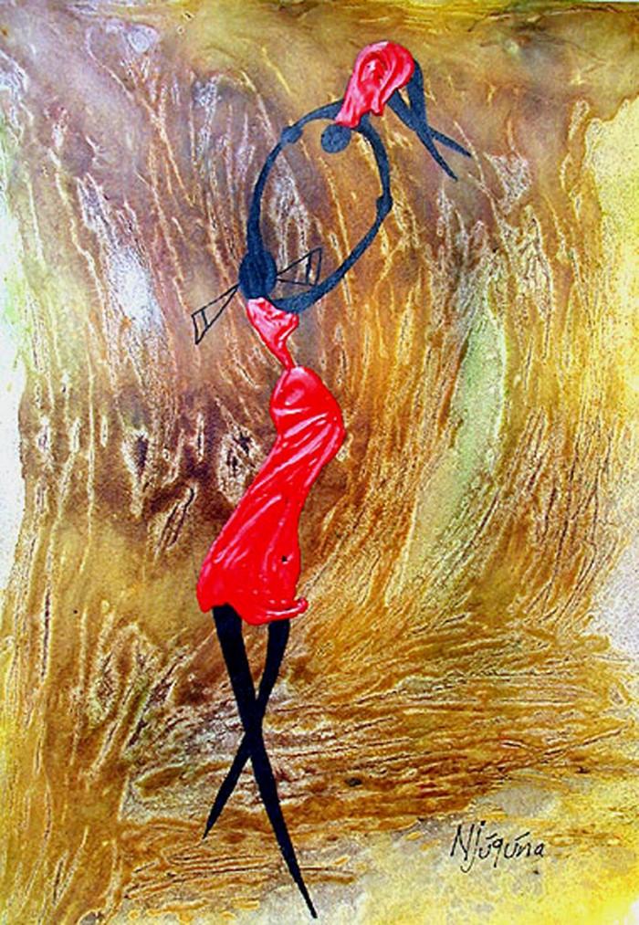 Bernard Ndichu Njuguna, современный художник