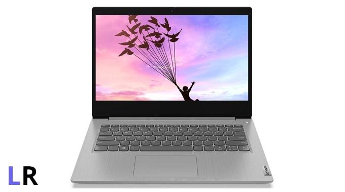 Lenovo IdeaPad Slim 3 laptop (grey colour, plastic body).