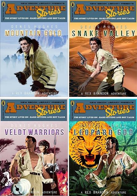 Rex Brandon books