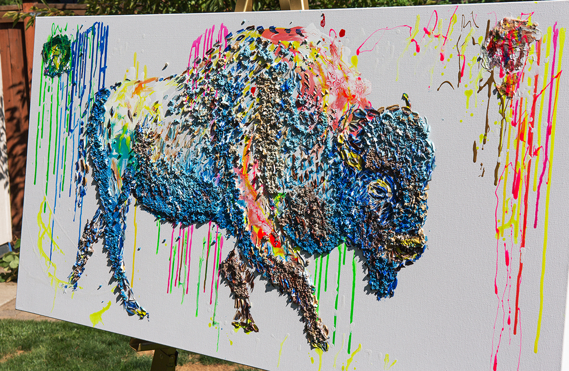 buffalo painting,buffalo unique texture, bizon painting,  buffalo voznarski, buffalo 3d artwork,  buffalo pop art, abstract buffalo painting, buffalo on canvas, buffalo oil ,buffalo 3d painting, buffalo acrylic on canvas,buffalo impasto,  buffalo 3d textured,