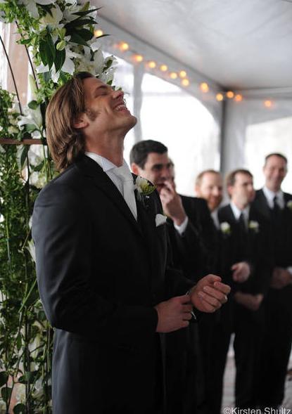 Supernatural Co Stars Jared Padalecki And Genevieve Cortese Were Married On Saay In The Bride S Hometown Of Sun Valley Idaho