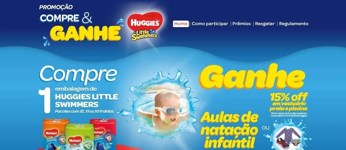 Cadastrar Promoção Huggies Verão 2020 Ganhe Aulas de Natação Infantil