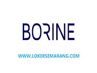 Lowongan Kerja Kendal Juni 2021 di PT Borine Technology Indonesia