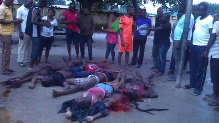 Graphic pictures: Army shoots Ekpeye Liberation Front militant group leader, General Igbudu, dead
