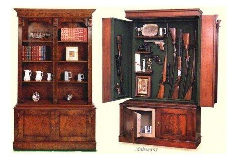 The Miller Hidden Gun Cabinet