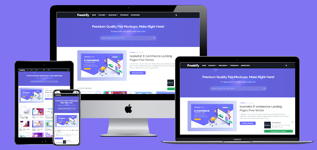 Freebify - Premium Blogger Template Free Download