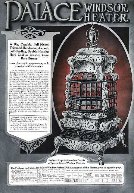 1916 Windsor heater advert