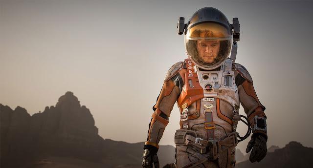 The Martian astronaut on Mars