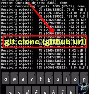 clone git John The Ripper Termux