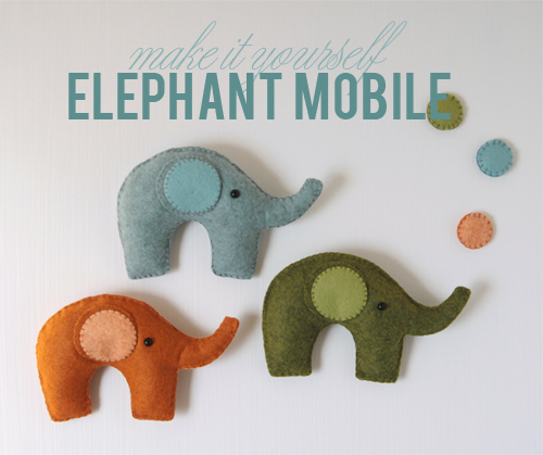 Elephant Mobile DIY