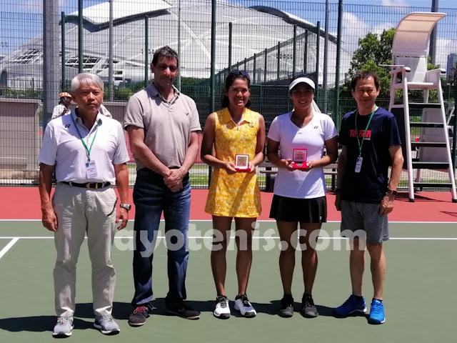 Aldila Sutjiadi Runner Up ITF Singapura 25k