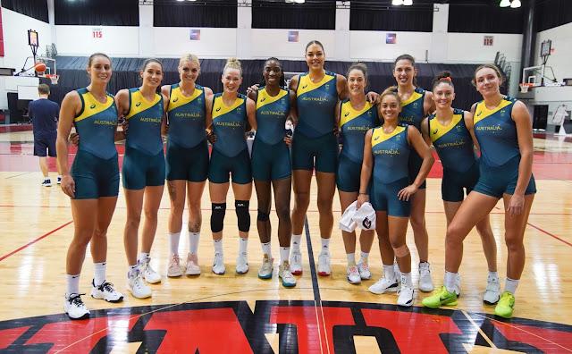 Austrália basquete Tóquio 2020