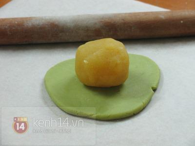 Bánh Trung thu trà xanh thơm lừng độc đáo