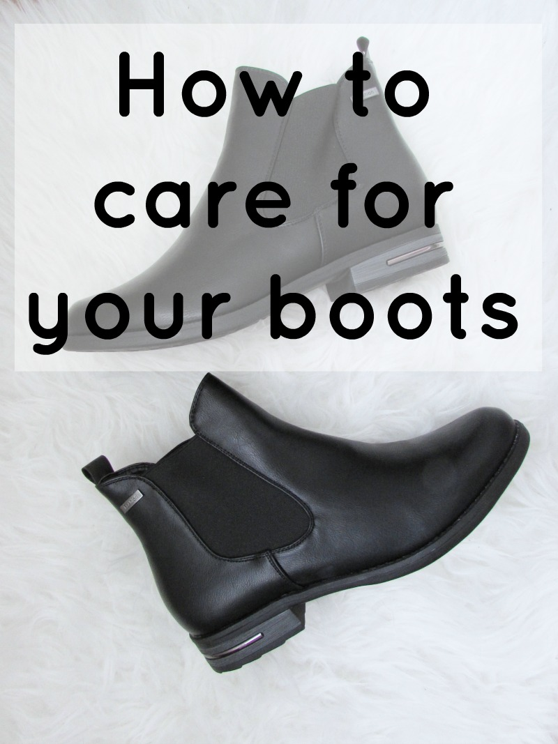 How to take care of your boots