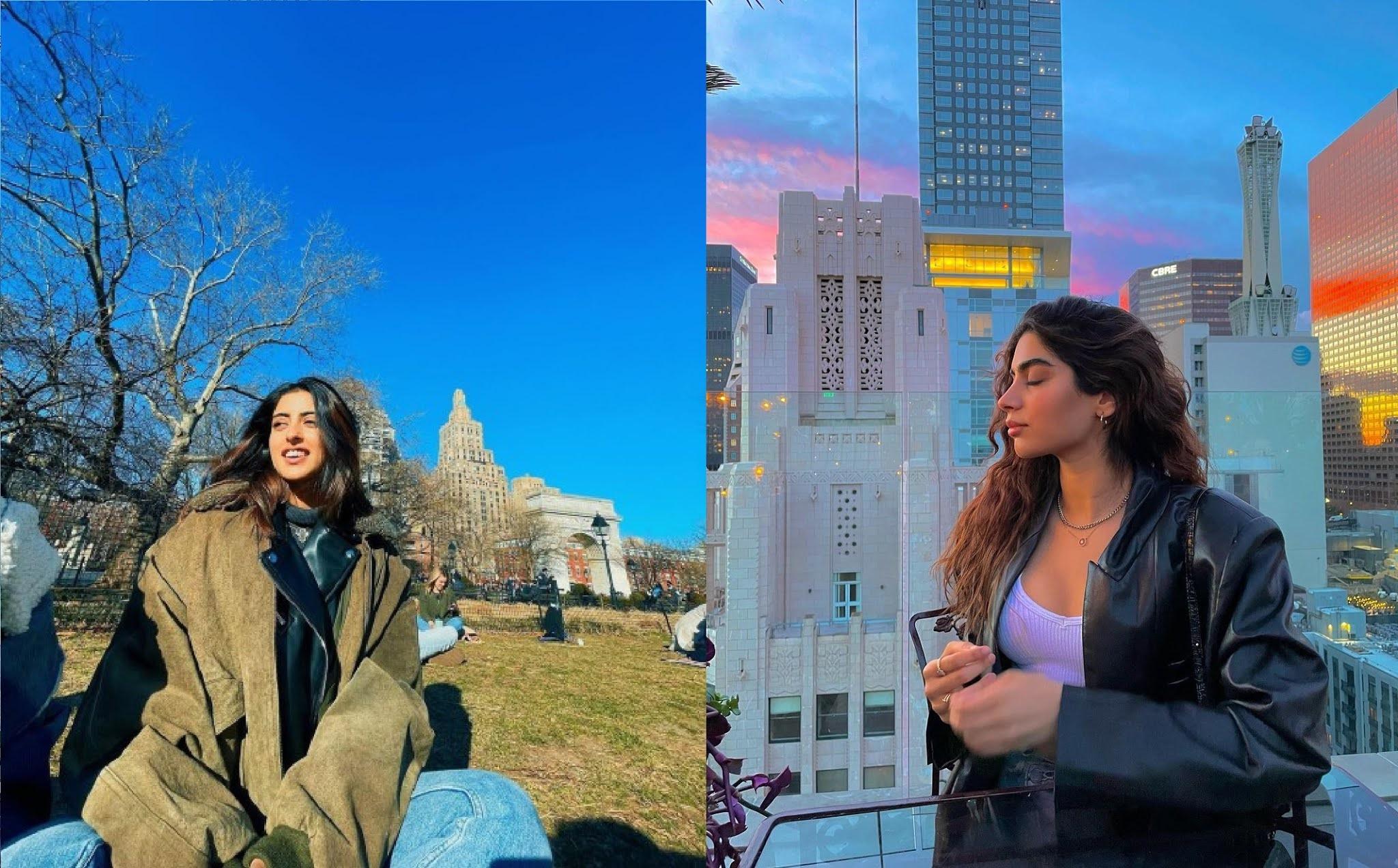 Actors Gossips: Navya Naveli Nanda and Khushi Kapoor live it up in New York, share photos