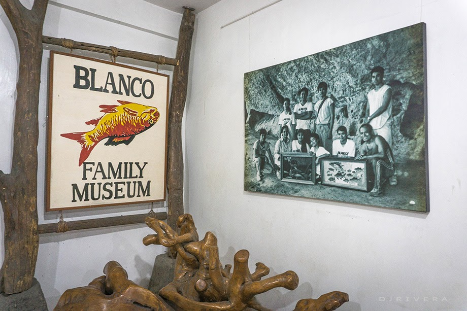 Blanco Family's portrait at the entrance
