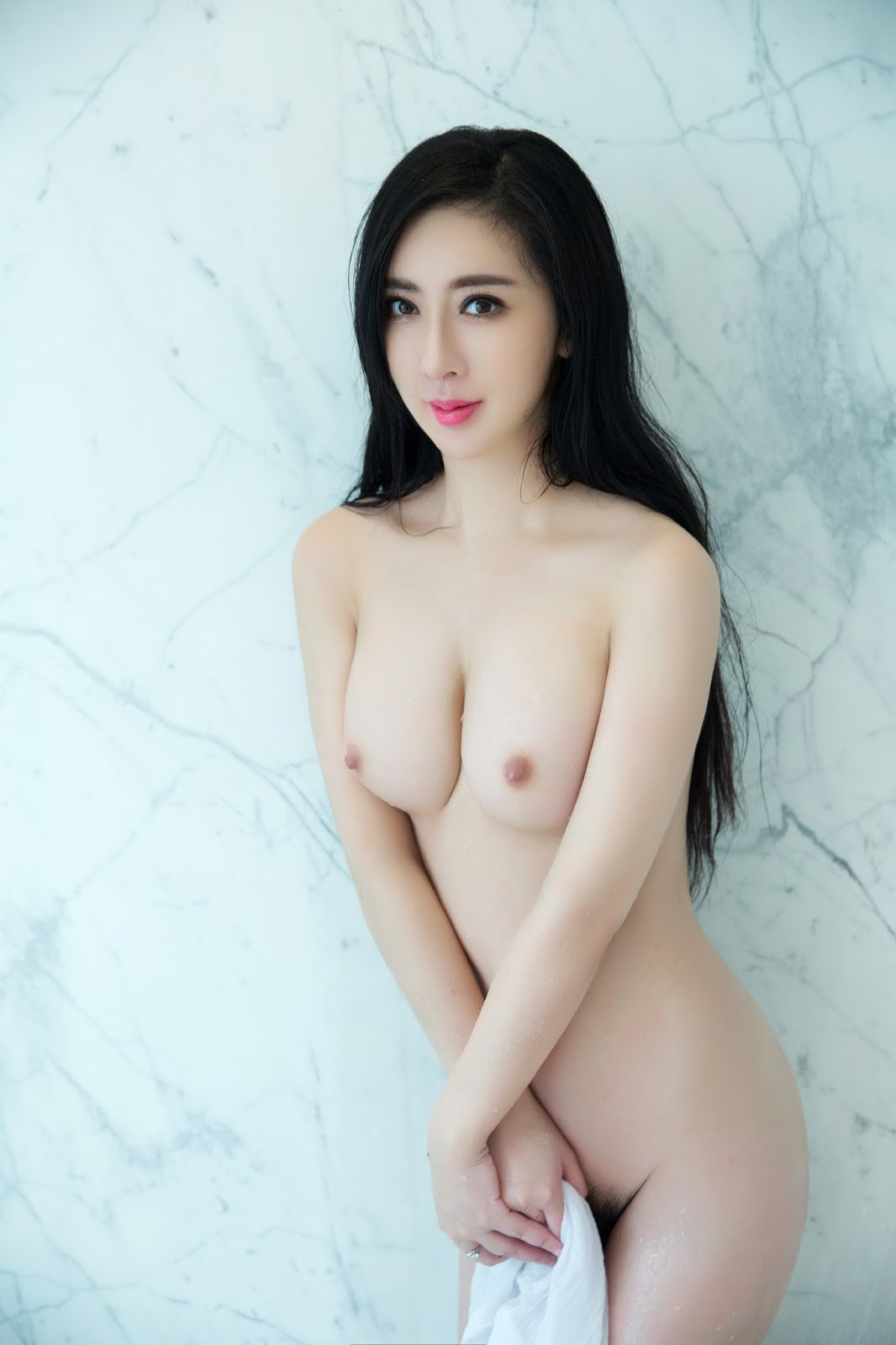 Beautiful Sexy Chinese Model Lilisha Naked Pose Exotic Asian Girls