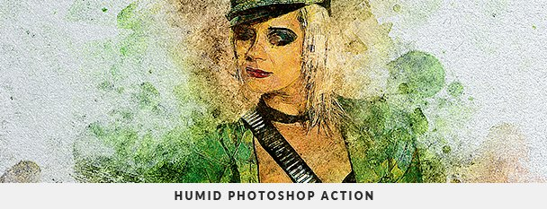 Painting 2 Photoshop Action Bundle - 92